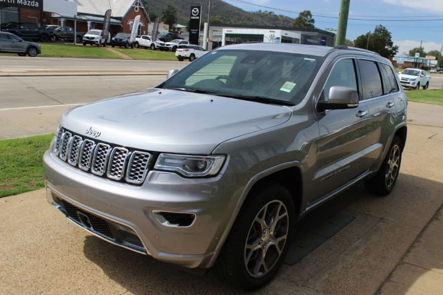 2019 MY0  Jeep Grand Cherokee WK Overland Suv