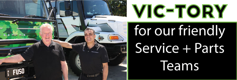 VIC-TORY FOR OUR TRUSTED SERVICE + PARTS TEAMS