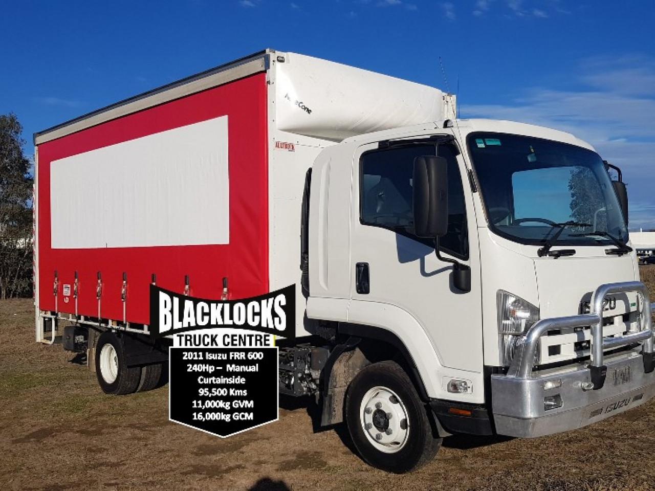 2011 Isuzu F Series F Series Curtainsider Truck