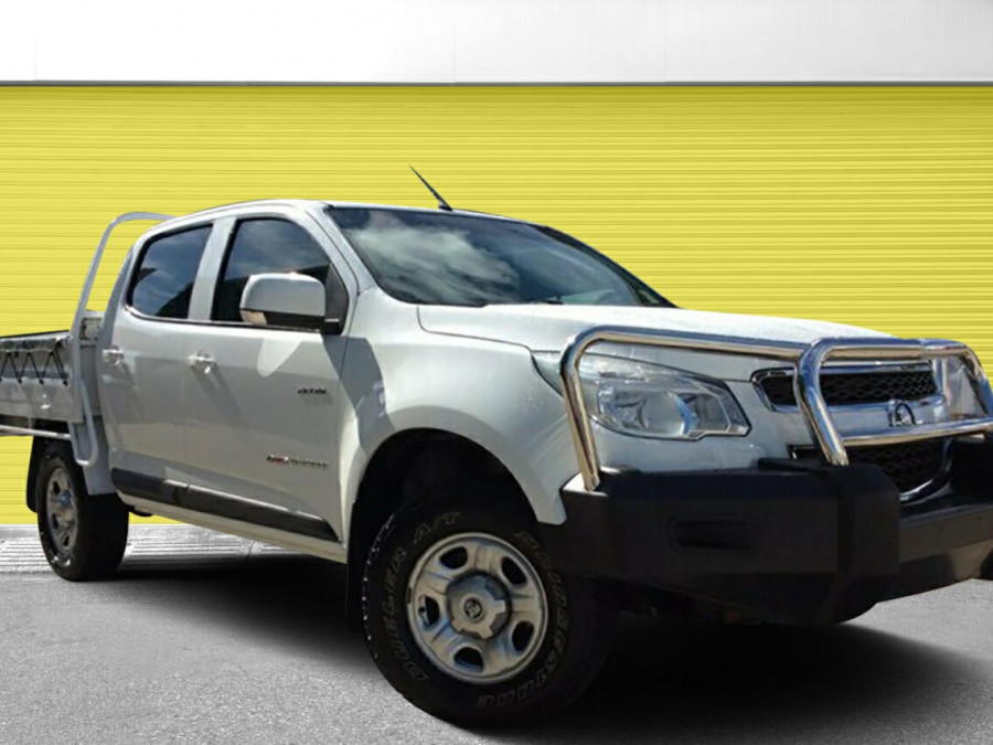 2014 Holden Colorado RG MY14 LX Crew Cab Cab chassis