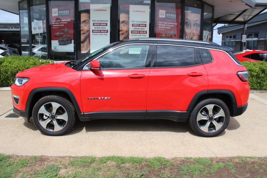2019 MY18 Jeep Compass M6 Limited Suv Image 5