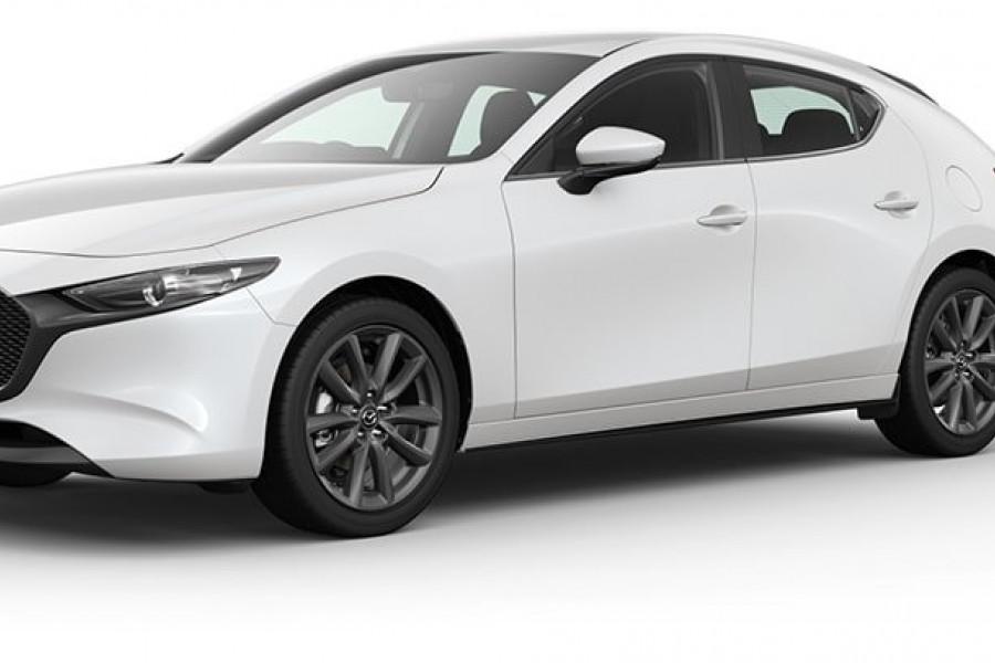 2021 Mazda 3 G25 Evolve Hatch