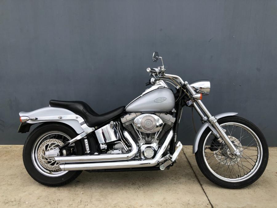 2002 Harley Davidson Softail FXST Standard Motorcycle Image 1