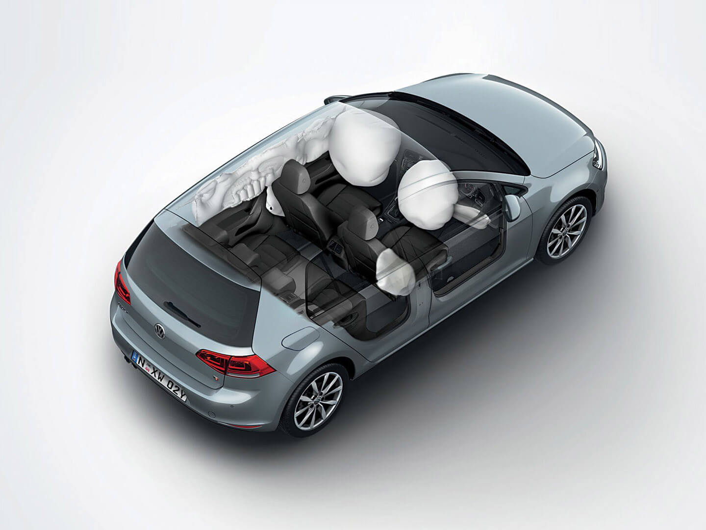 As safe as safe can be Seven airbags Image