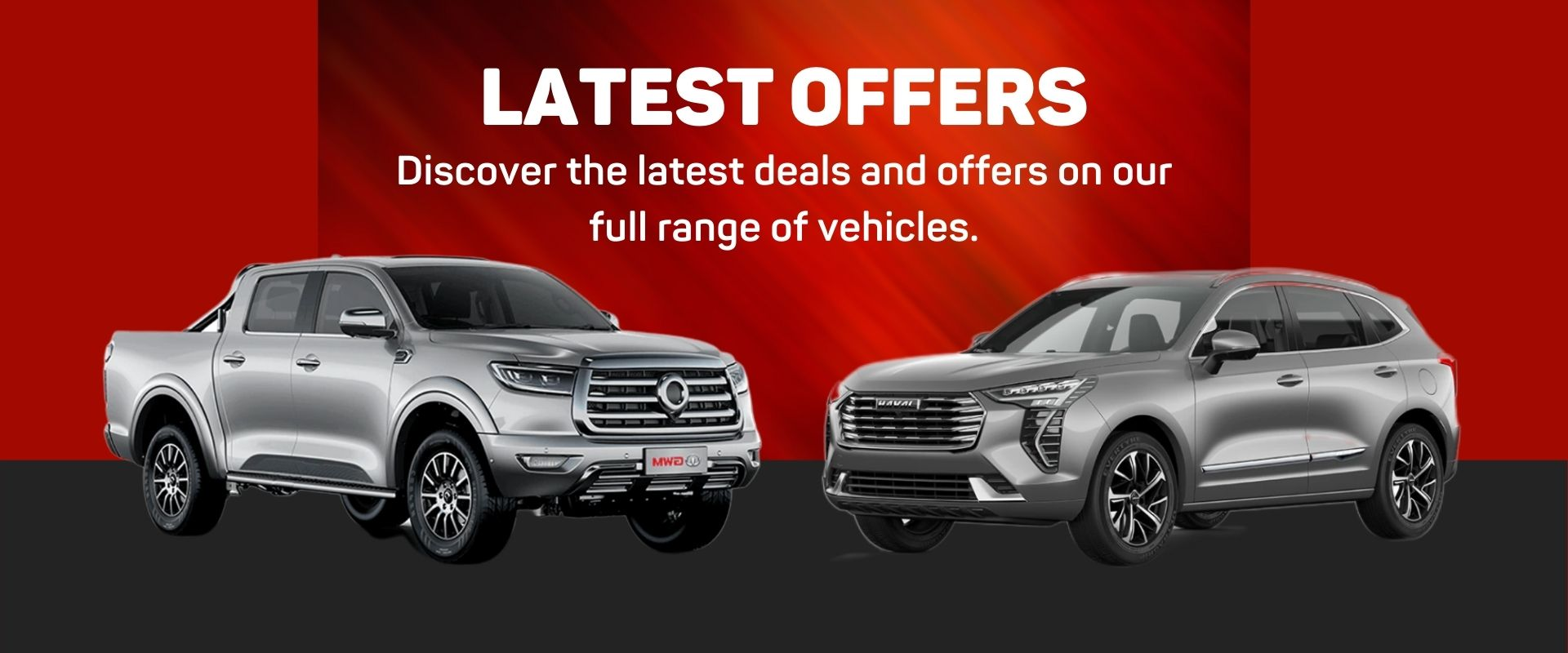 See Our Latest GWM Haval Offers