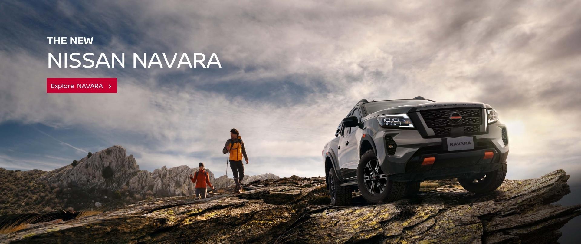 Tough. Rugged. Advanced. The new Nissan Navara