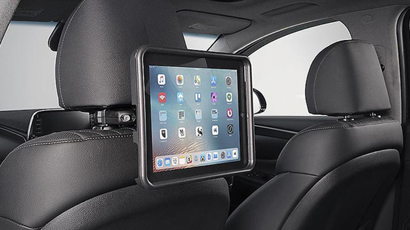 iPad holder.