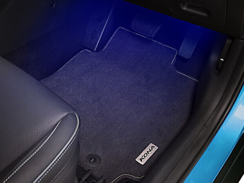 """<img src=""""Front and rear interior footwell lightning"""