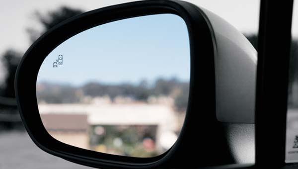 500X Blind spot alert