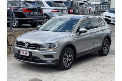 2017 Volkswagen Tiguan 5N MY18 132TSI Comfortline Suv Image 3