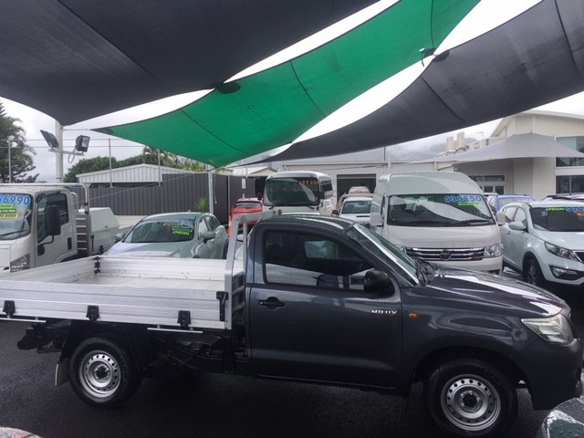 2013 MY12 Toyota HiLux TGN16R  Workmate Cab chassis - single cab