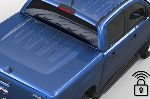 "<img src=""Tonneau Cover - Hard - 1 Piece with Remote Locking - Body Colour"