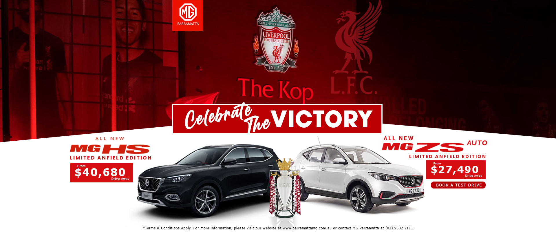 Mg ZS and HS Liverpool Edition