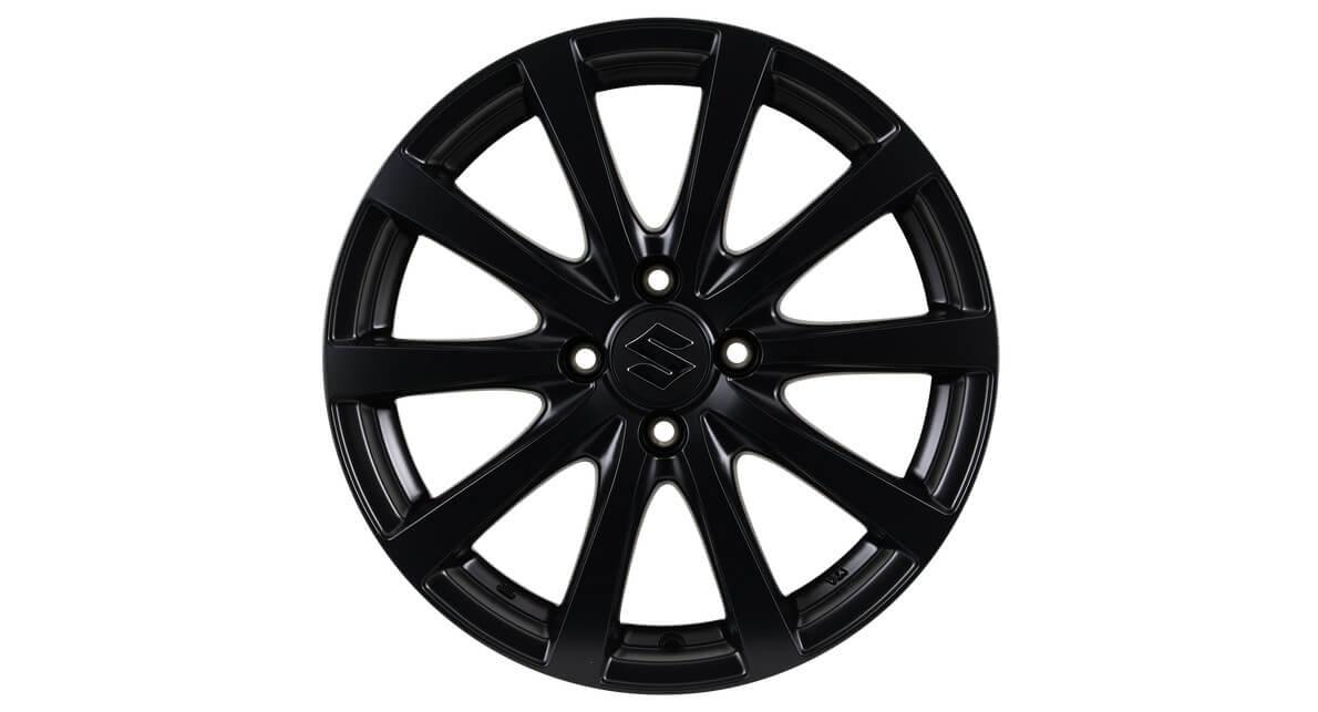 """Black 16"""" Alloy Wheels (set)"""