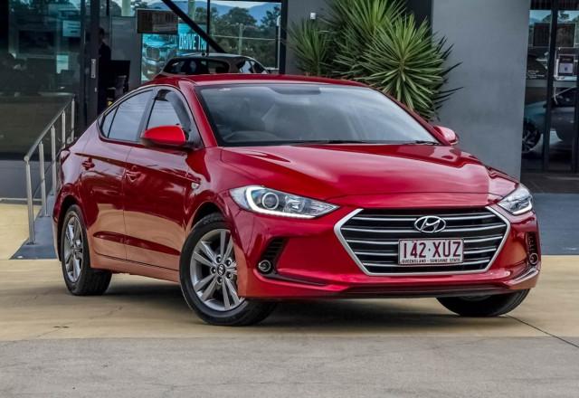 2017 Hyundai Elantra AD MY17 Active Sedan