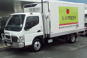 2016 4 Pallet Insulated Fibreglass Body Vehicle body