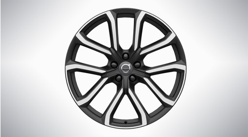 "20"" 5-Double Spoke Matt Tech Black Diamond Cut Alloy Wheel - 234"