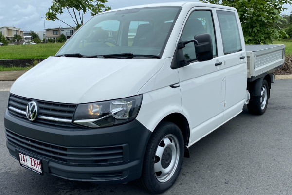 2016 Volkswagen Transporter Cab chassis