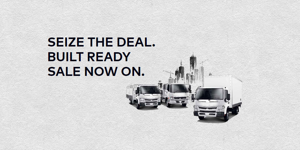 THE FUSO BUILT READY RANGE SALE NOW ON