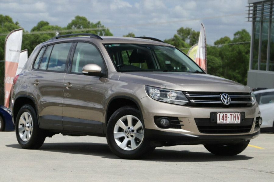2013 MY13.5 Volkswagen Tiguan 5N MY13.5 103TDI DSG 4MOTION Pacific Suv