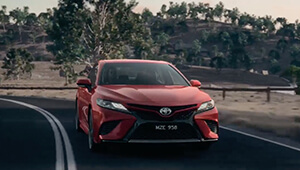 Camry An exciting drive