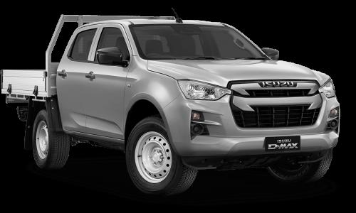 New Isuzu UTE SX 4x4 Crew Cab Chassis