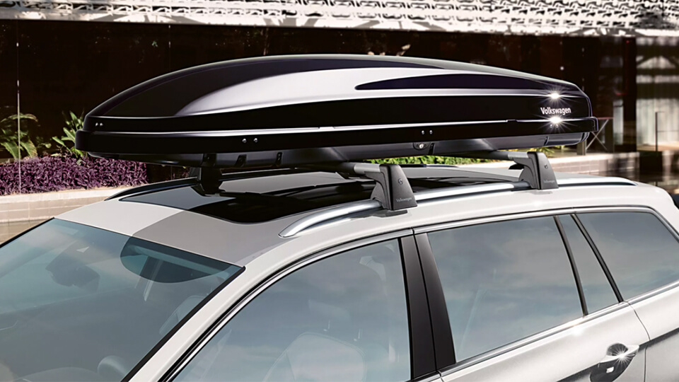 Premium roof box 340 and 360 Litres