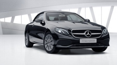 New Mercedes-Benz E-Class Cabriolet