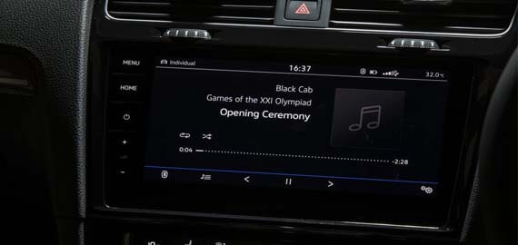 Golf Infotainment System