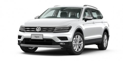 2019 MY19.5 Volkswagen Tiguan 5N 110TSI Comfortline Allspace Suv