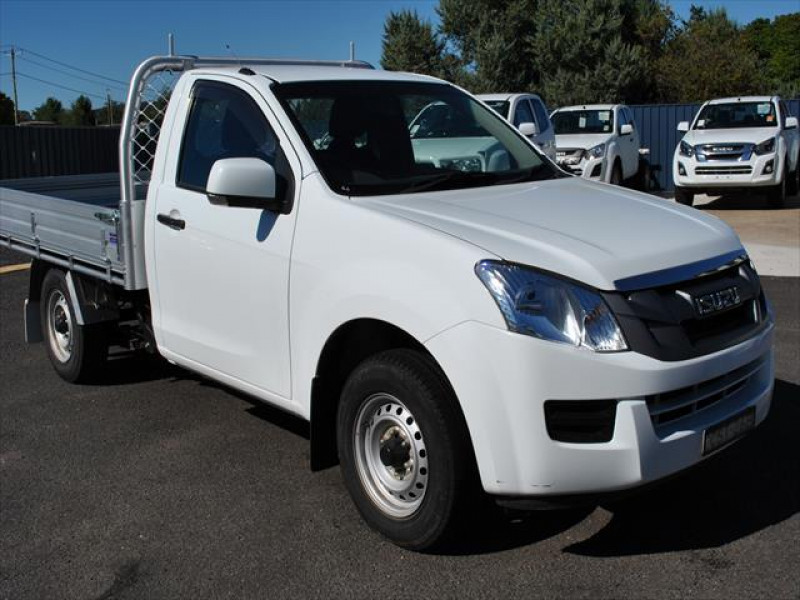 used 2014 isuzu ute d-max sx #13267 cooma, snowy mountains - high