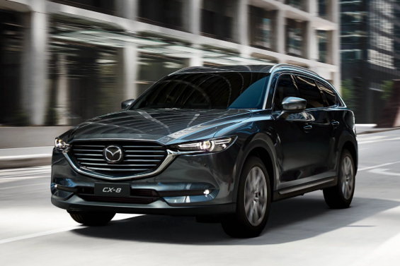 Have you heard? The Mazda CX-8 achieved the 5-Star ANCAP Safety Rating!