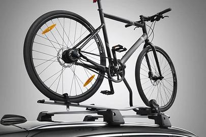 Bike holder, frame mounted Image