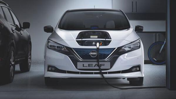 LEAF Charging the new Nissan LEAF