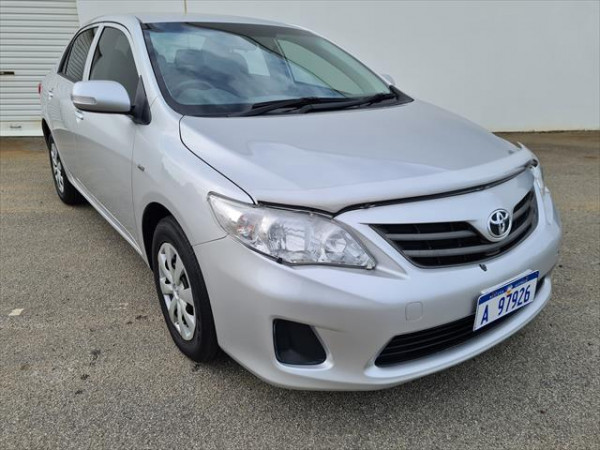 2012 Toyota Corolla ZRE152R Ascent Sedan