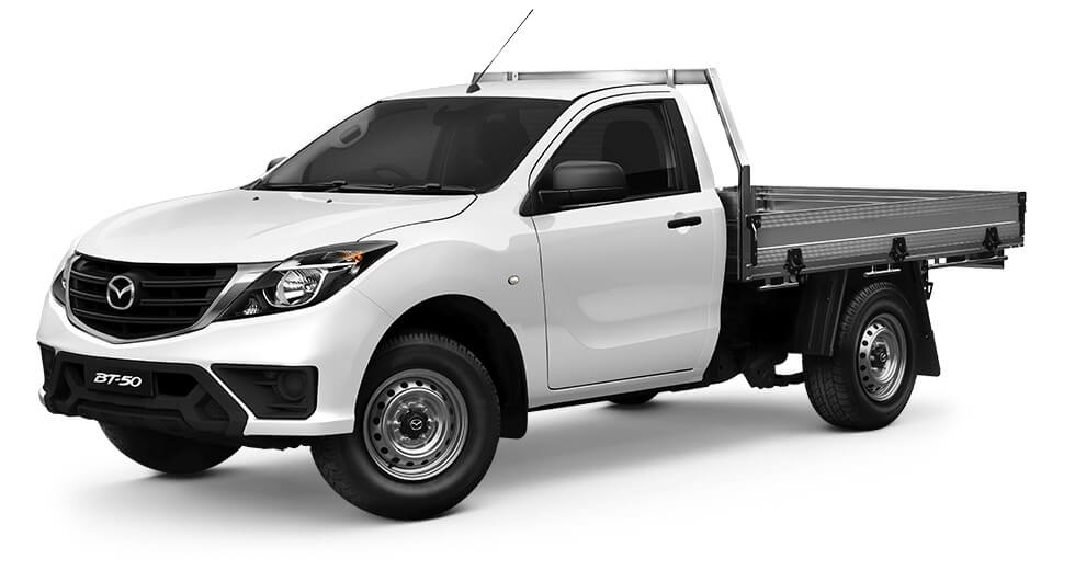 2018 MYch Mazda BT-50 UR 4x2 2.2L Single Cab Chassis XT Cab chassis