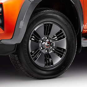 X-Terrain Alloy Wheels Image