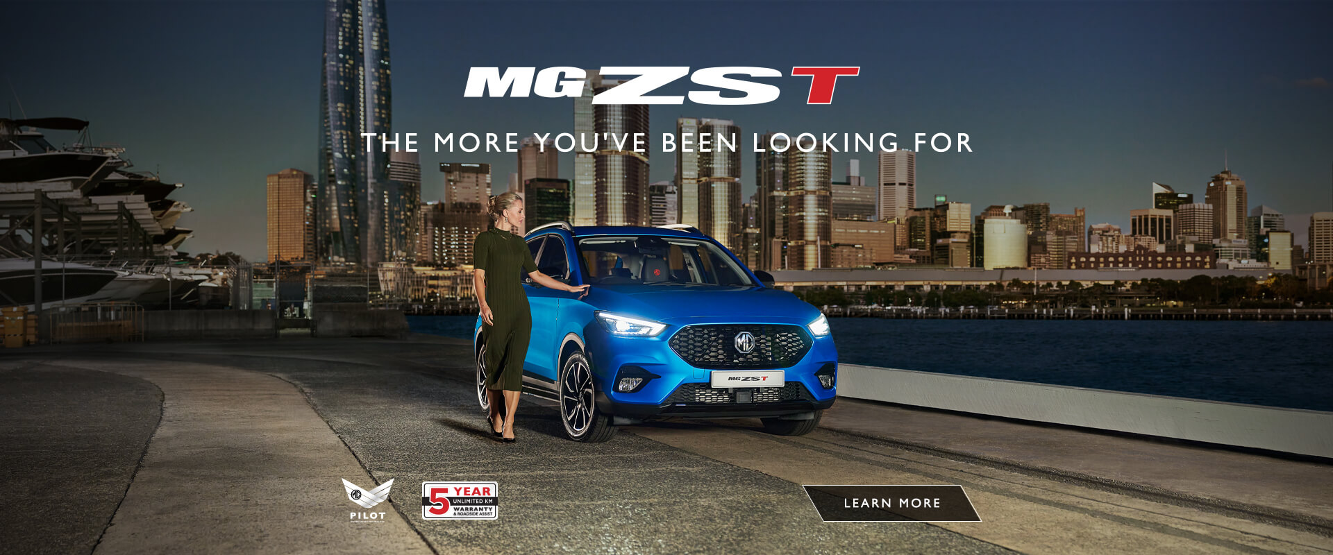 The all new MG ZST - There's a new model in town.