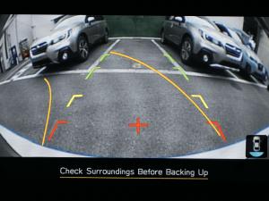 Reverse parking camera Image