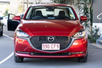 2021 Mazda 2 DL Series G15 Pure Sedan Sedan Image 4