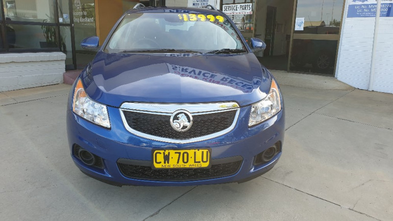 2014 Holden Cruze JH Series II CD Wagon Image 2