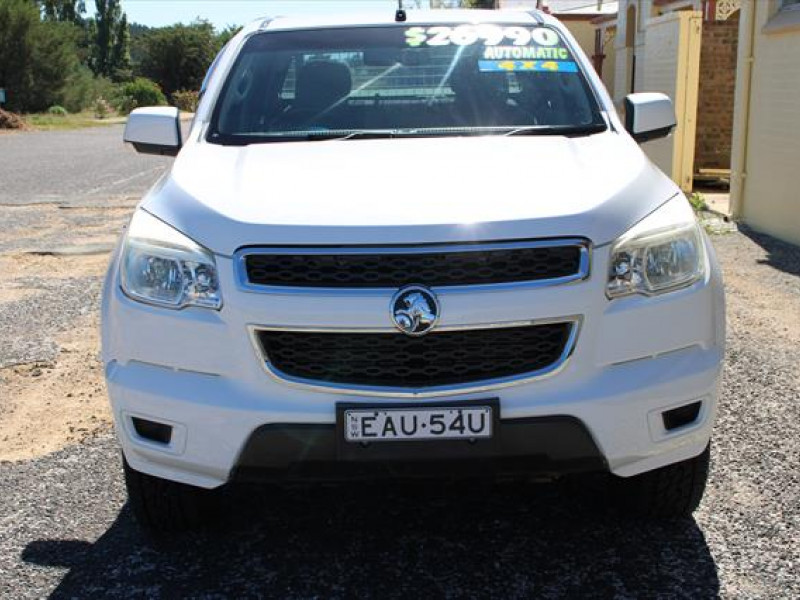 2012 MY13 Holden Colorado RG  LX Cab chassis - dual cab
