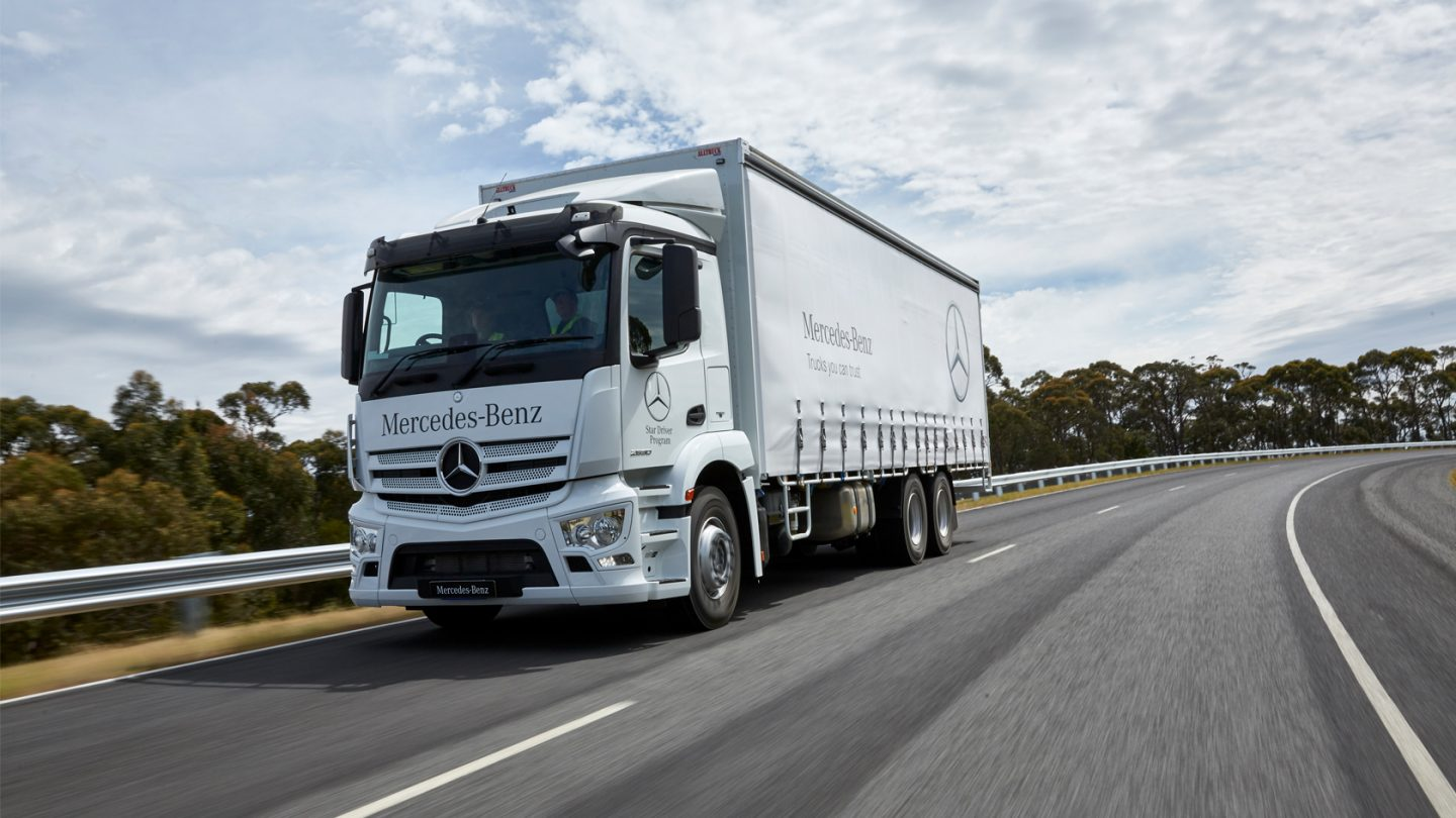 Actros Rigid Drive Train