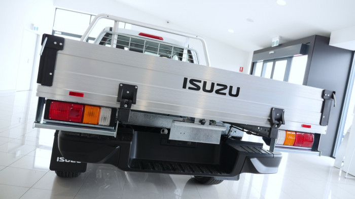 2020 MY21 Isuzu UTE D-MAX SX 4x4 Space Cab Chassis Cab chassis Image 30