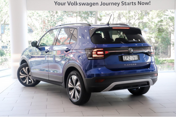2021 Volkswagen T-Cross CityLife Black 1.0L T/P 7Spd DSG Suv Image 2