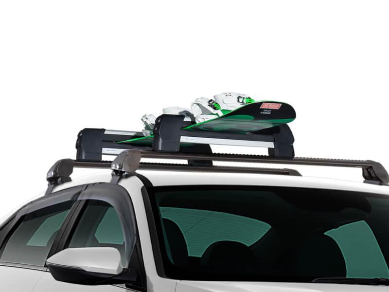 "<img src=""Ski & snowboard carrier."