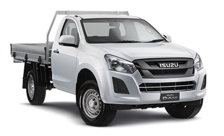 2018 MY17 Isuzu UTE D-MAX MY17 4x4 SX Single Cab Chassis Single cab