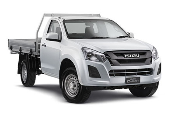 Isuzu UTE D-MAX 4x4 SX Single Cab Chassis MY17