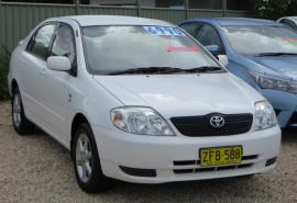 Toyota Corolla Corolla ZZE122R TTR