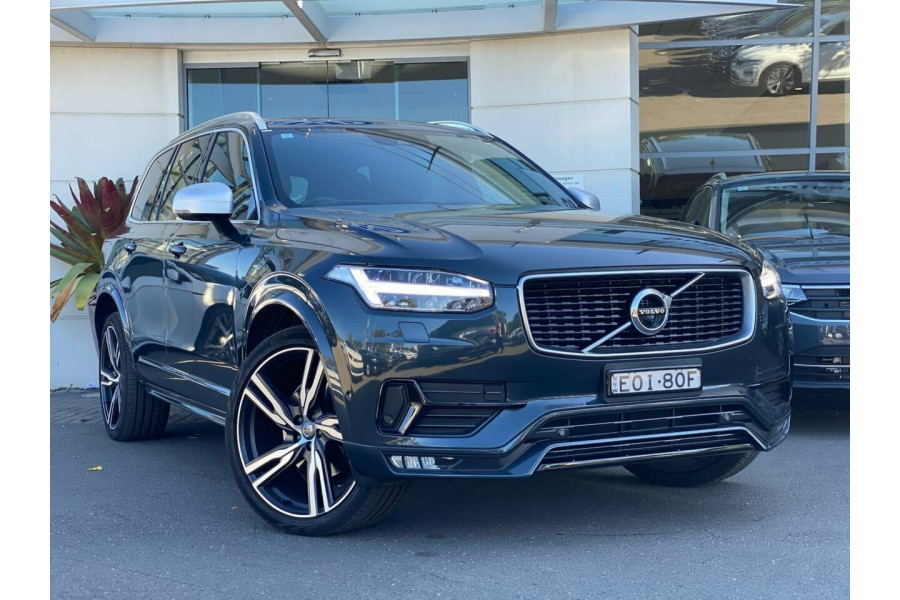 2018 Volvo XC90 L Series MY18 T6 Geartronic AWD R-Design Suv